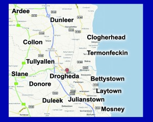 Drogheda Leader Newspaper Circulation Catchment Area